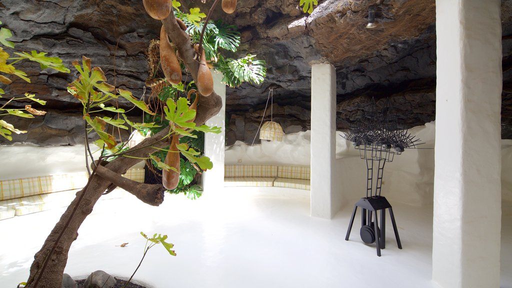 Cesar Manrique Foundation showing interior views