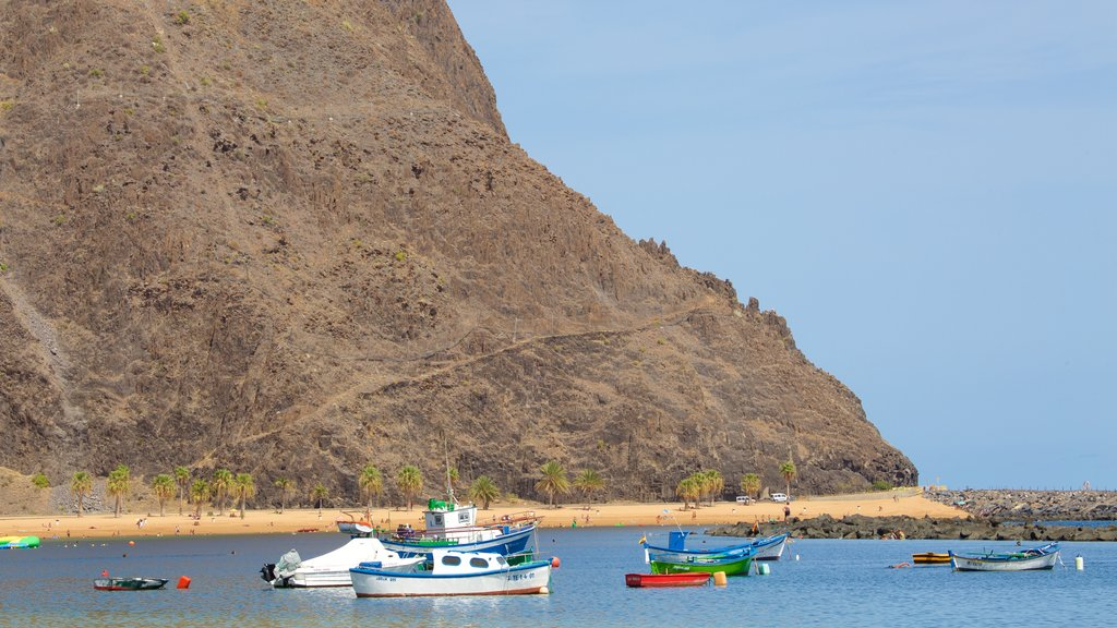 Teresitas Beach featuring boating and a bay or harbor