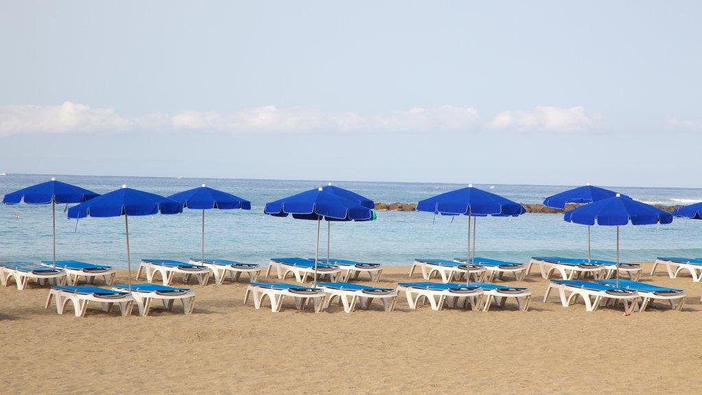 Las Vistas Beach which includes general coastal views and a sandy beach