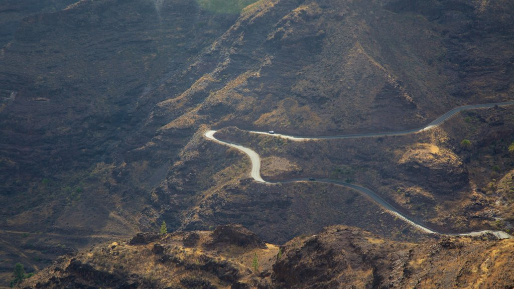 Canary Islands featuring a gorge or canyon