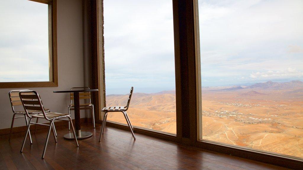 Fuerteventura featuring interior views, tranquil scenes and mist or fog