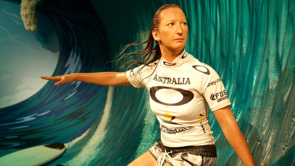 Madame Tussauds Sydney showing art