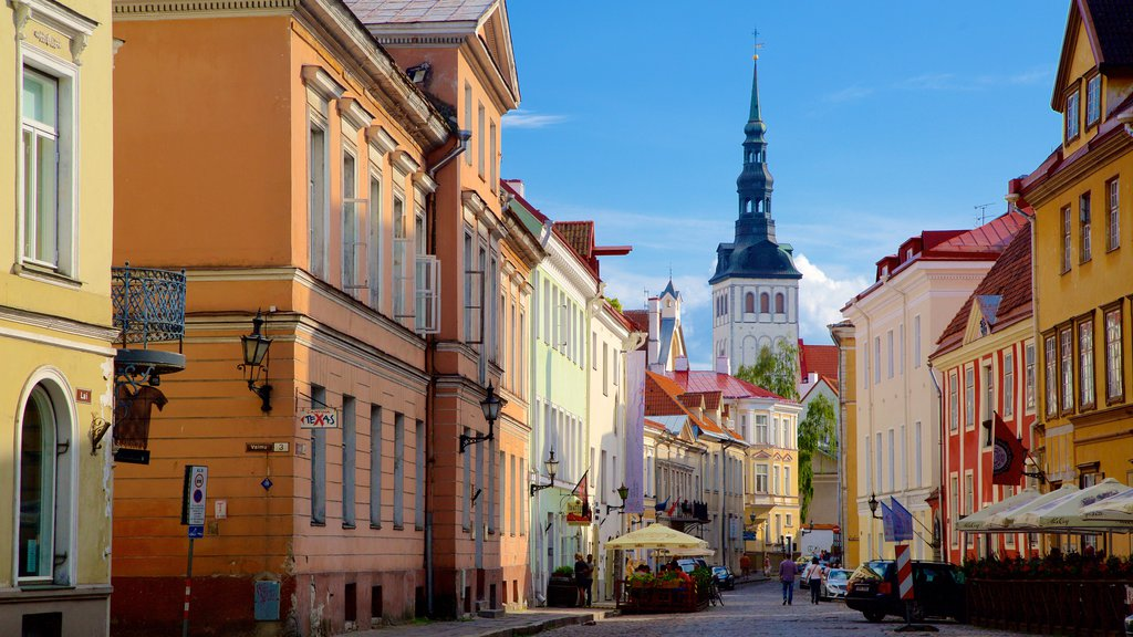 Old Town showing a city and heritage architecture