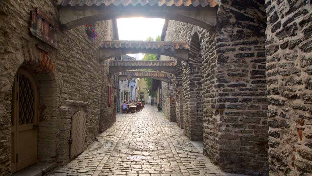 St. Catherine\'s Passage featuring heritage architecture