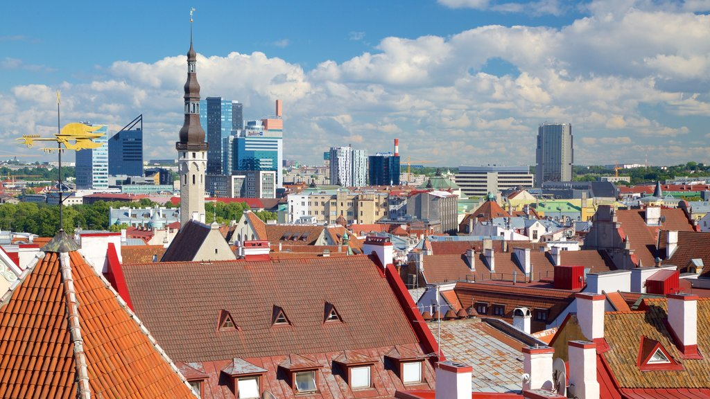 Tallinn featuring a city