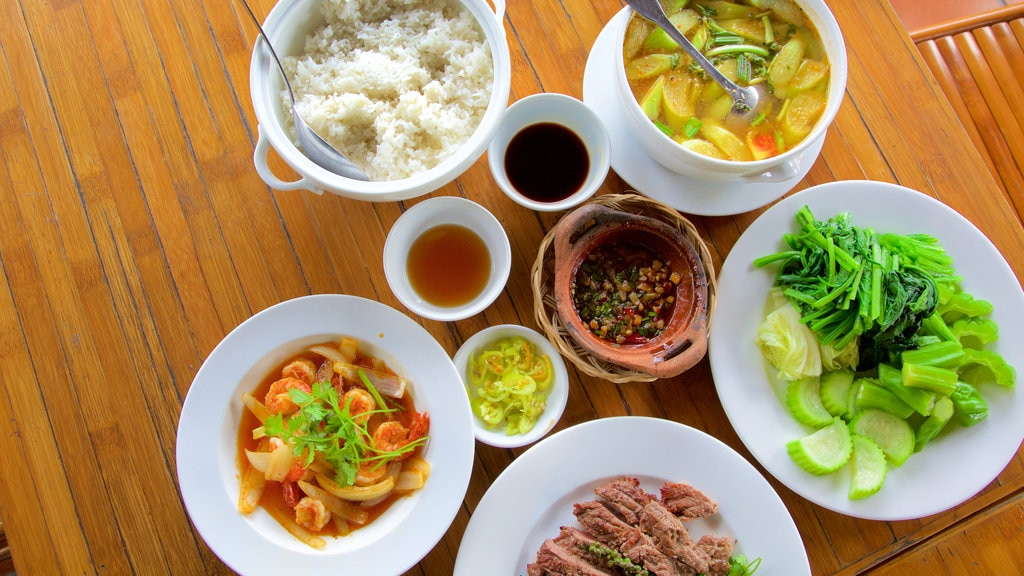 Ho Chi Minh City featuring food