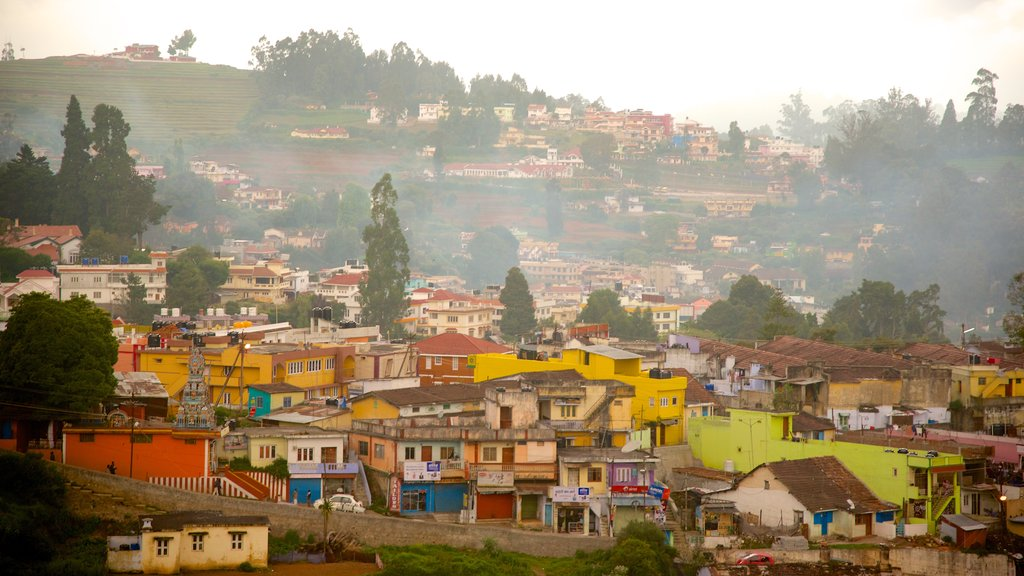 Ooty featuring a city