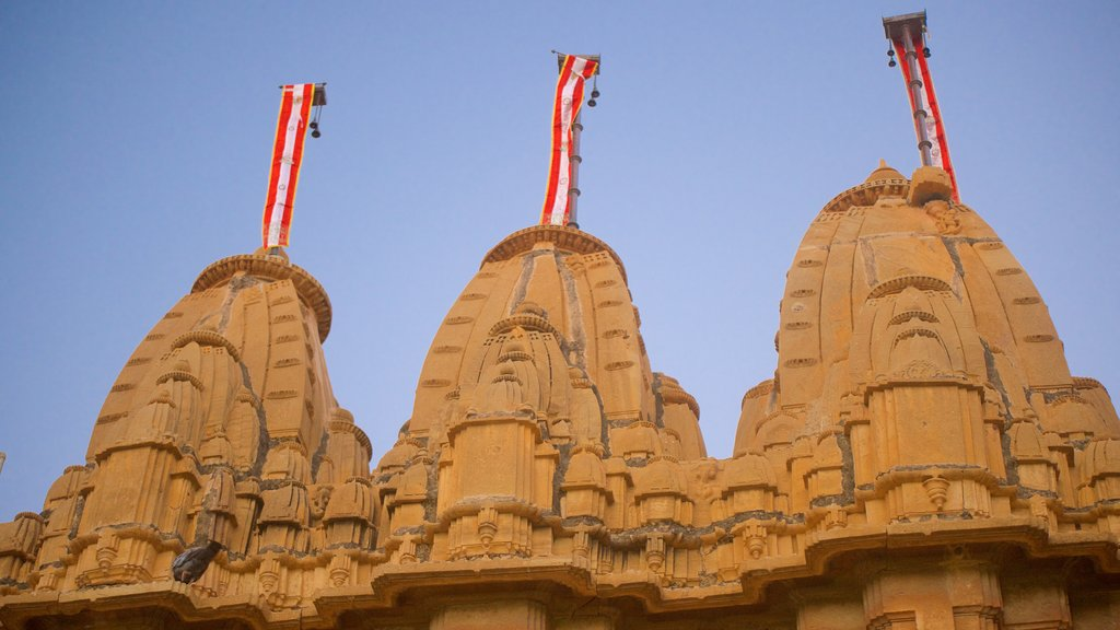 Jaisalmer Fort featuring a statue or sculpture and heritage elements