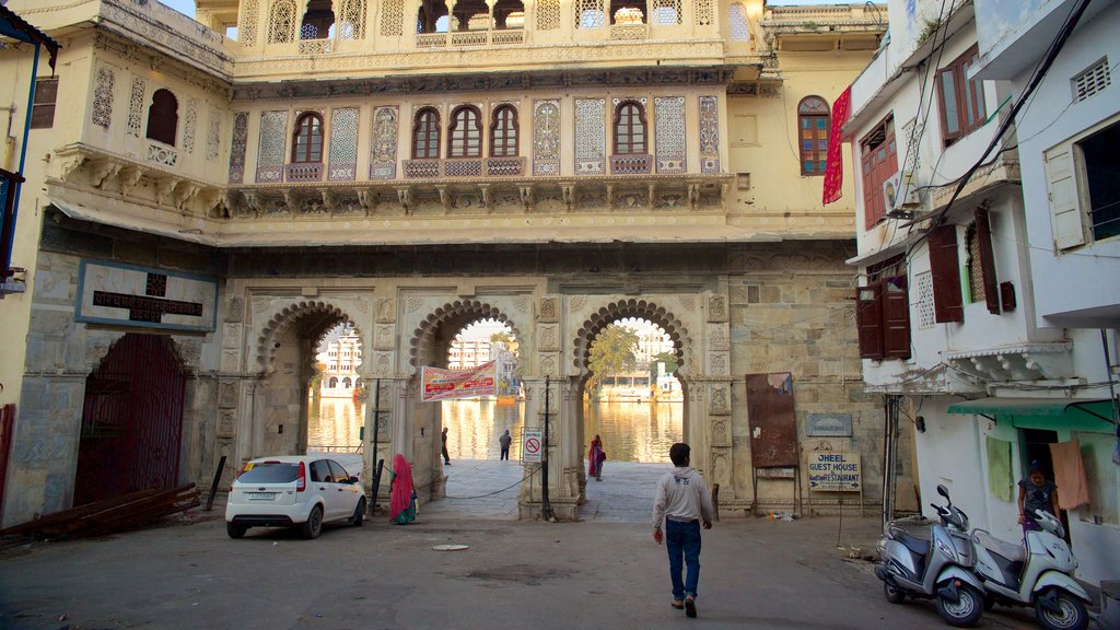 Udaipur which includes street scenes as well as an individual male