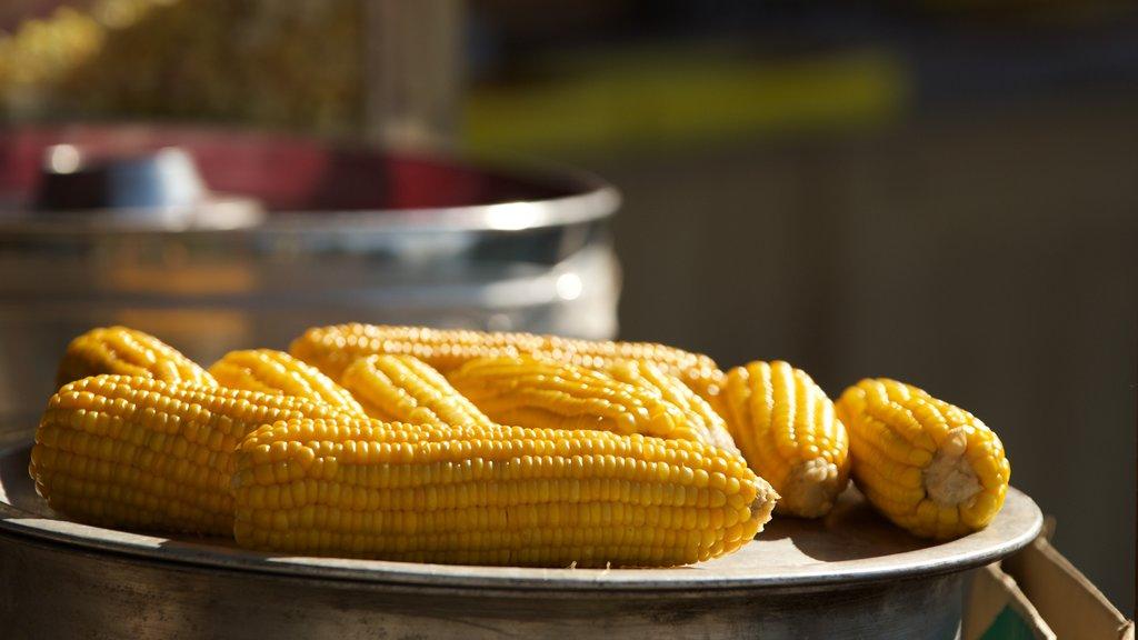 Mussoorie showing food