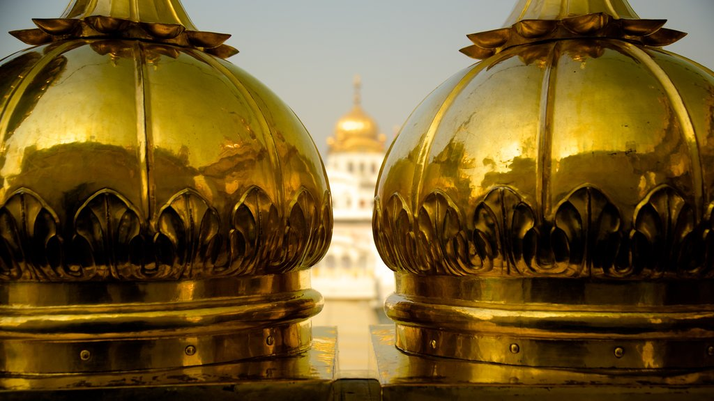 Golden Temple showing heritage elements