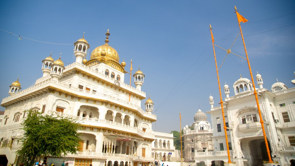 Golden Temple showing heritage architecture and heritage elements