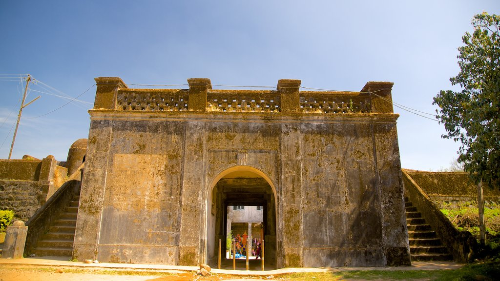 Madikeri Fort which includes heritage architecture and heritage elements