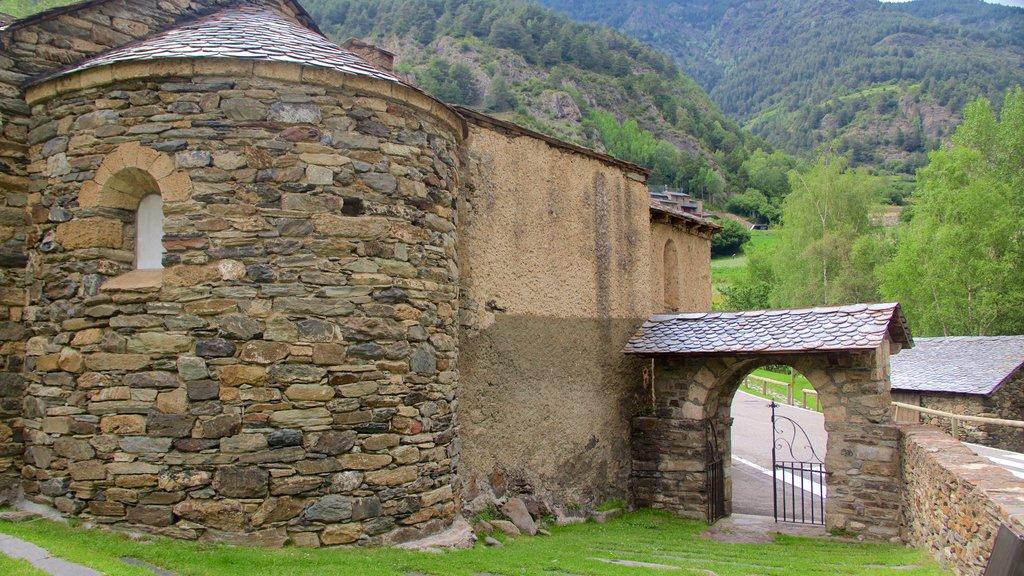 La Cortinada showing tranquil scenes and heritage architecture