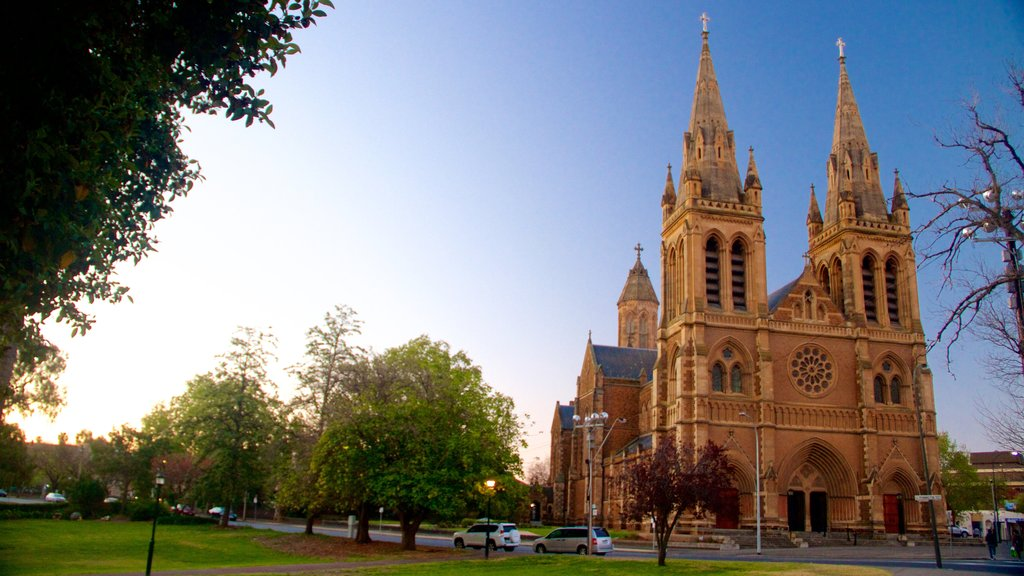 St Peter\'s Cathedral showing religious aspects, heritage architecture and heritage elements
