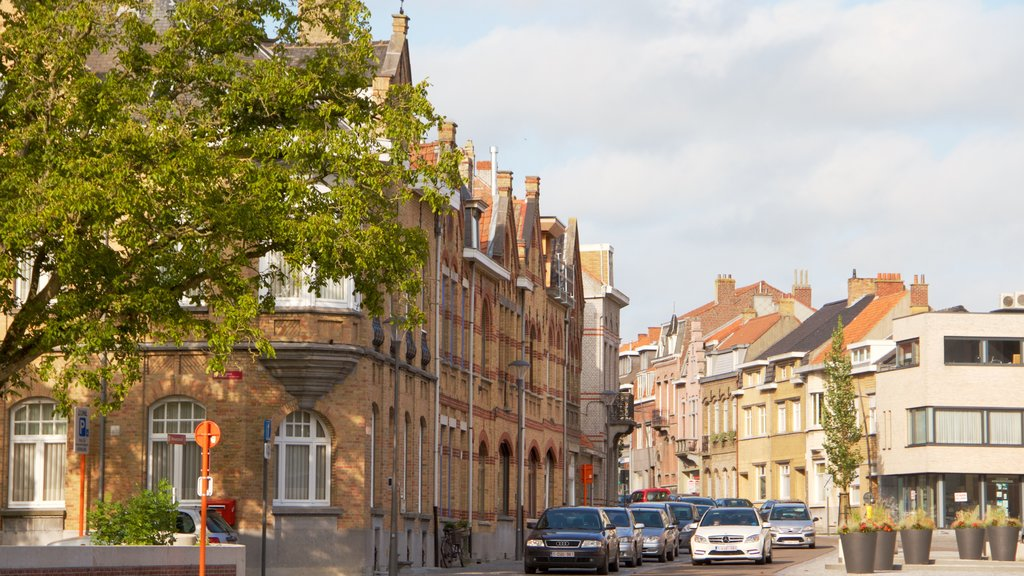 West Flanders showing heritage architecture and street scenes