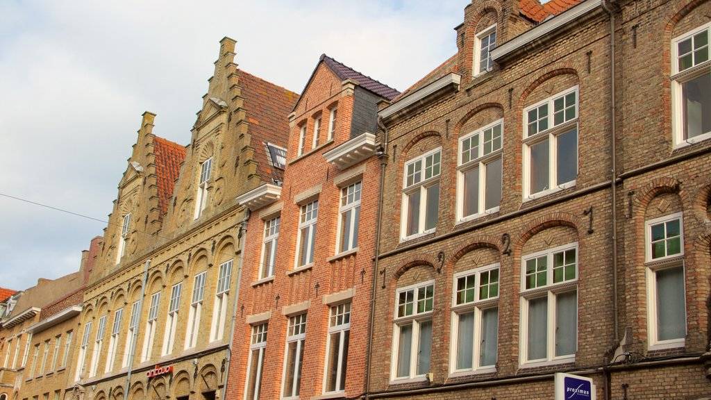 West Flanders showing heritage architecture