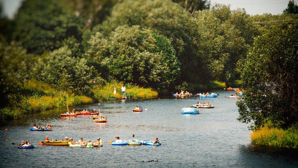 Vantaa featuring rafting, a lake or waterhole and kayaking or canoeing