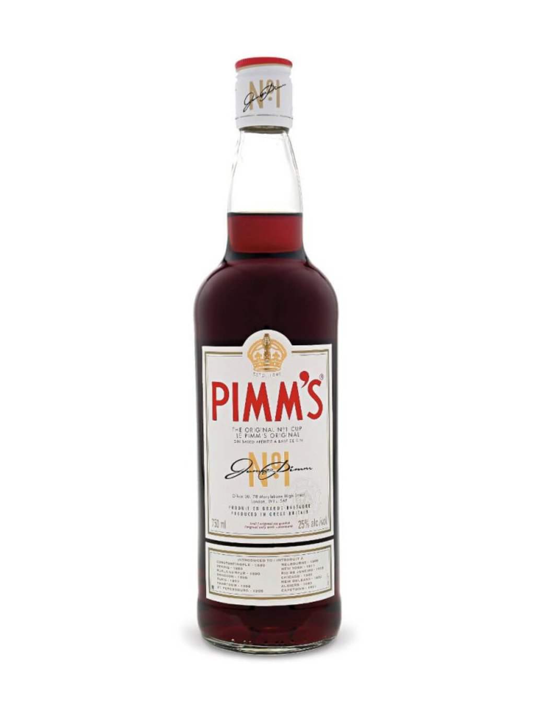 bouteille de Pimm's