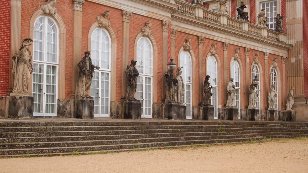 Sanssouci Park which includes heritage architecture, a statue or sculpture and heritage elements