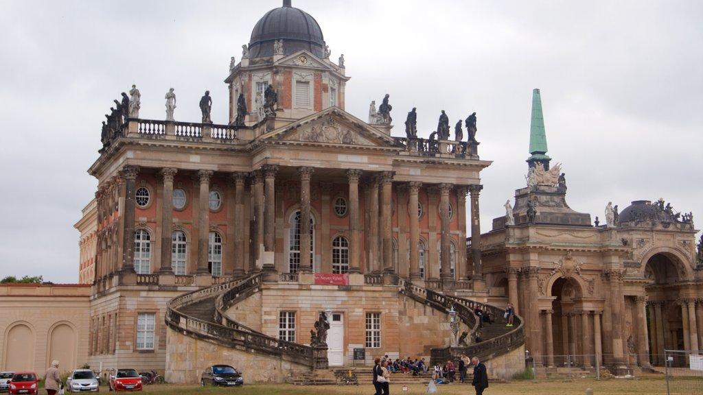 Sanssouci Park featuring heritage elements and heritage architecture