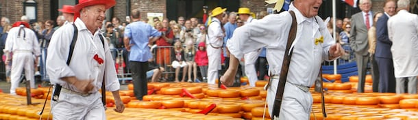 Say cheese! Dit is de Kaasmarkt in Alkmaar
