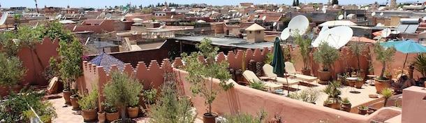5x verborgen dakterrassen van Marrakech