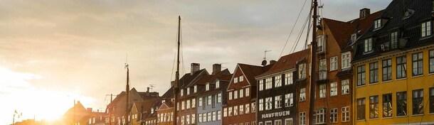 Kopenhagen in één minuut - cultuur te midden van Scandinavische vreedzaamheid