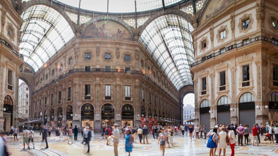 Explore Milan's Fashion District