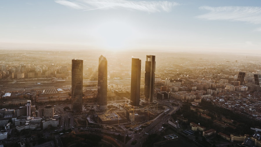 5 planes diferentes en Madrid