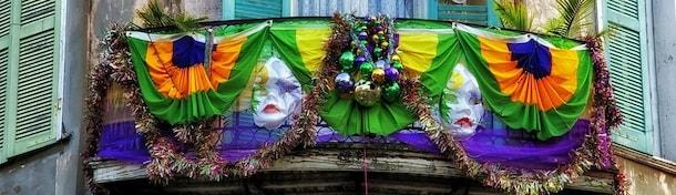 Eventi mondiali: hotel per il Mardi Gras