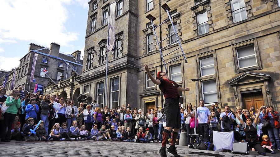 Weltweite Events: Hotels für das Edinburgh Fringe
