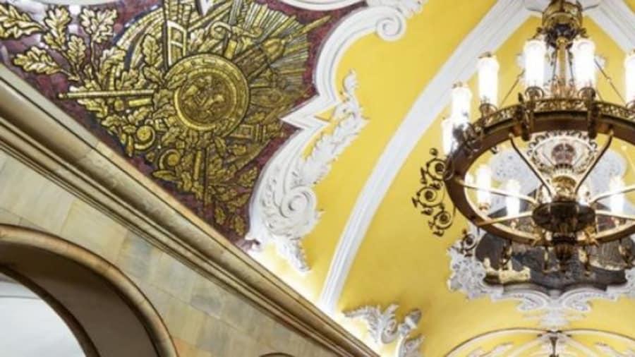Aventures dans le métro de Moscou