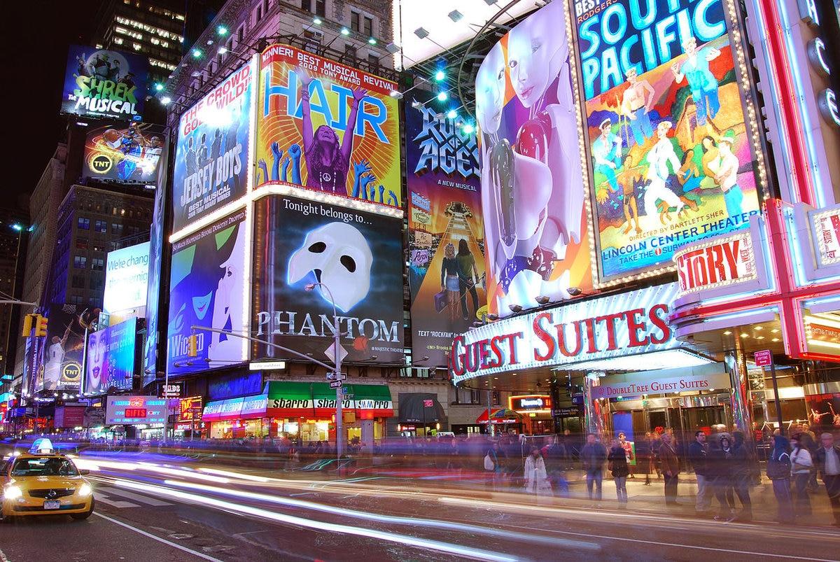 5 incontournables du quartier Broadway Times Square à New