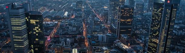 Eine Minute Frankfurt - Europäische Finanzhauptstadt mit Charme