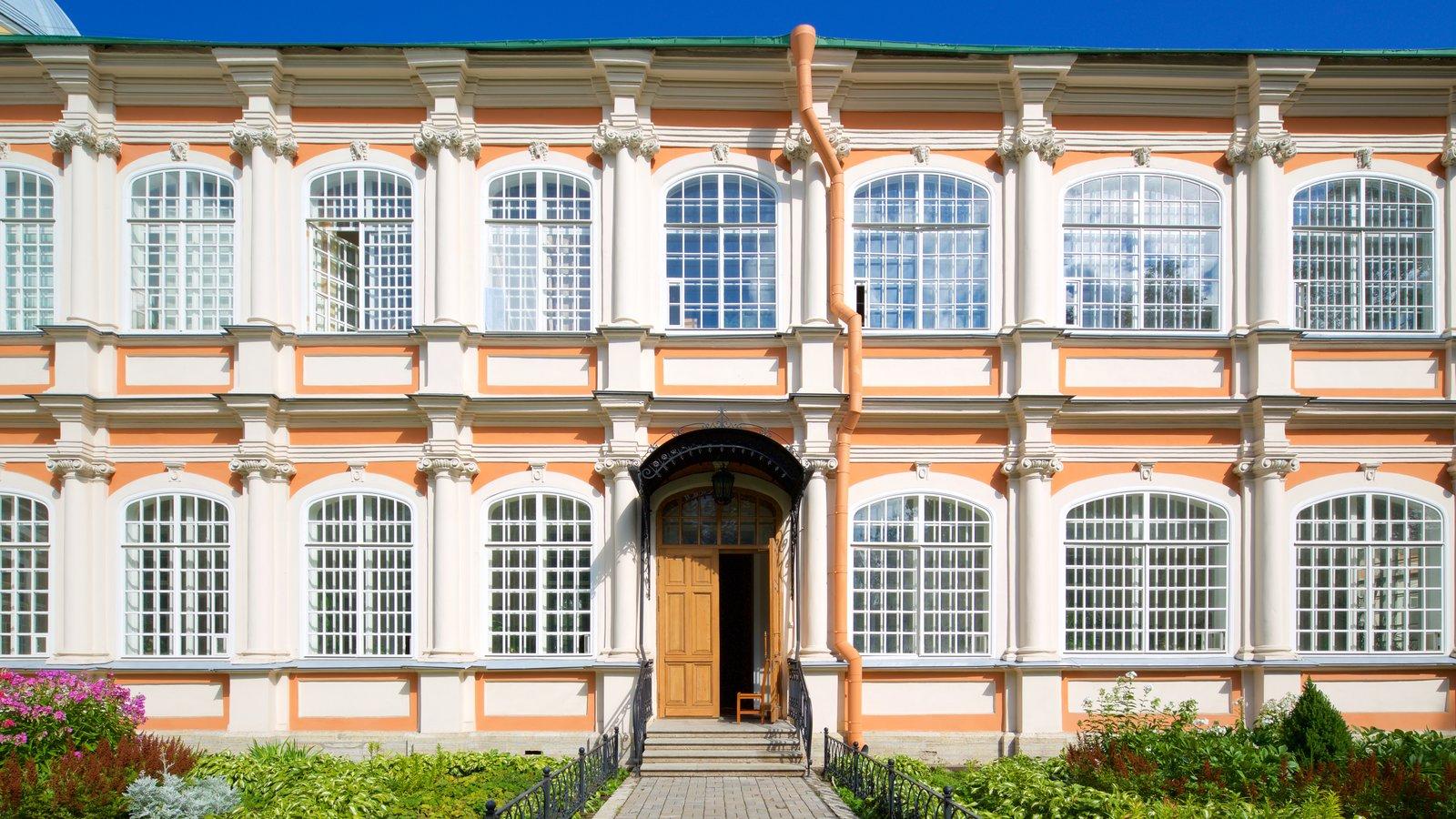 Alexander Nevsky Lavra caracterizando arquitetura de patrimônio