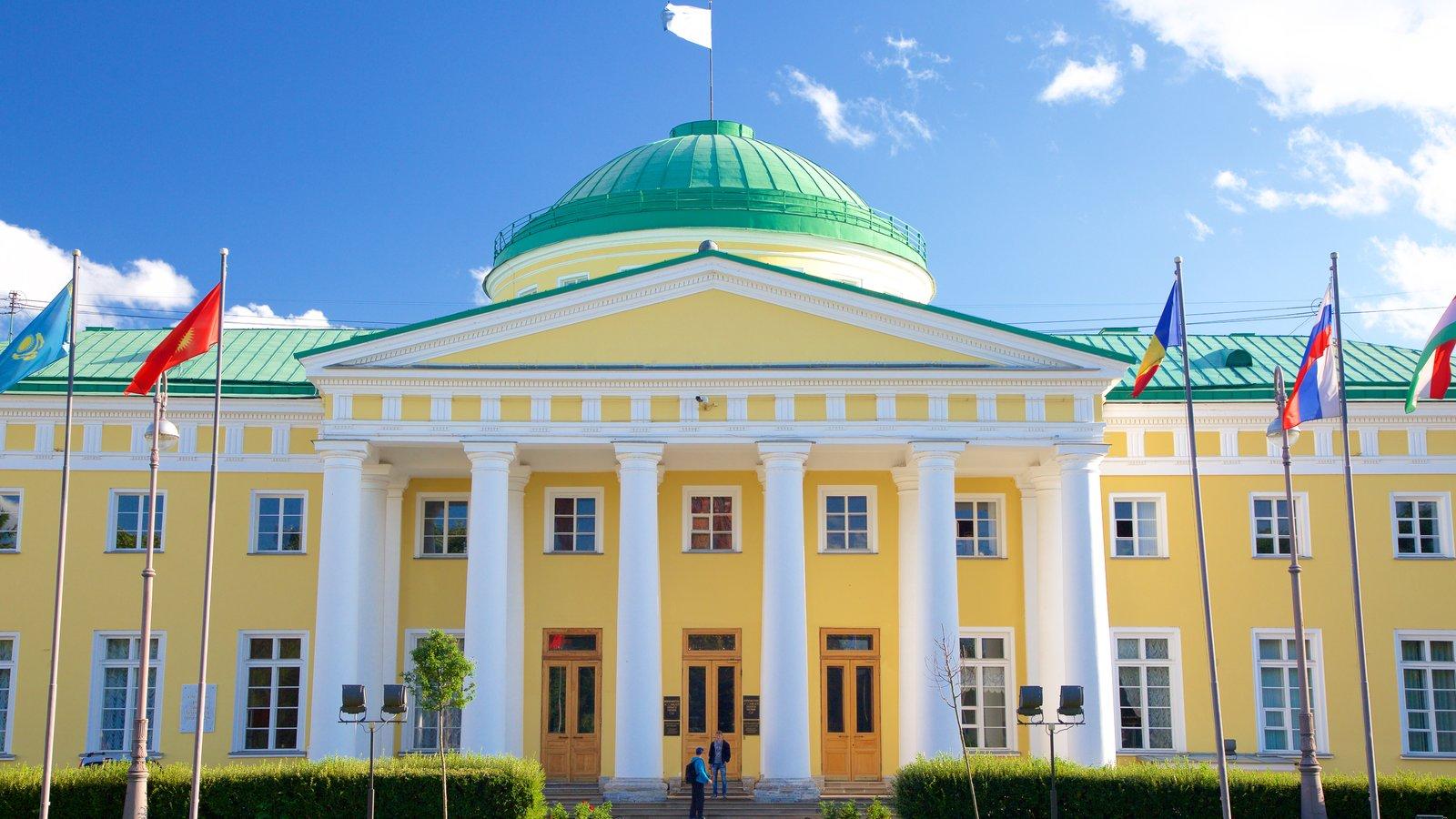 Palácio Tauride que inclui arquitetura de patrimônio