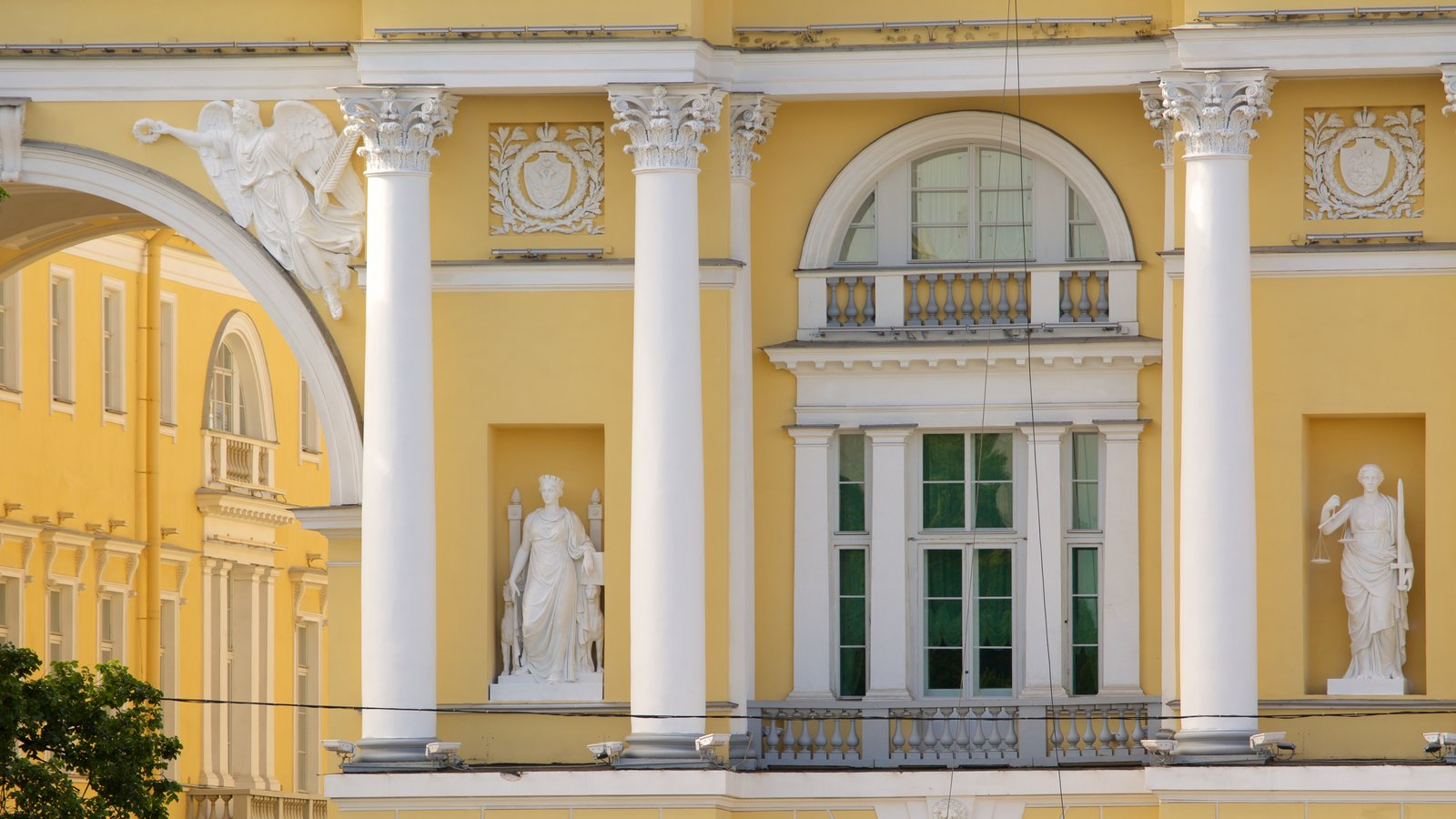 São Petersburgo caracterizando arquitetura de patrimônio