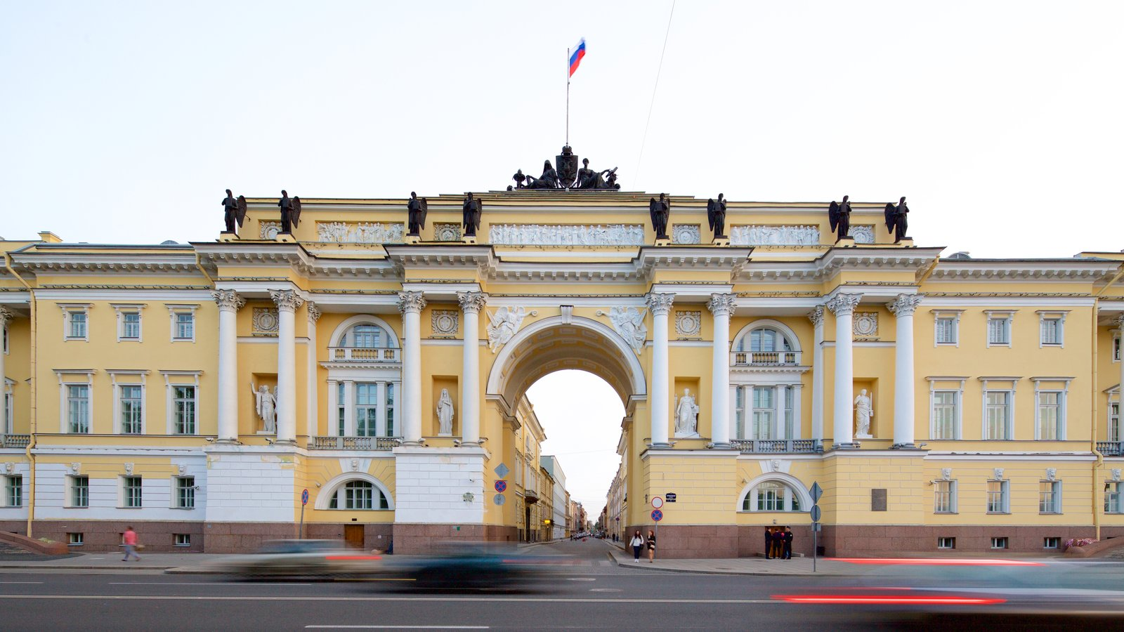 São Petersburgo que inclui arquitetura de patrimônio