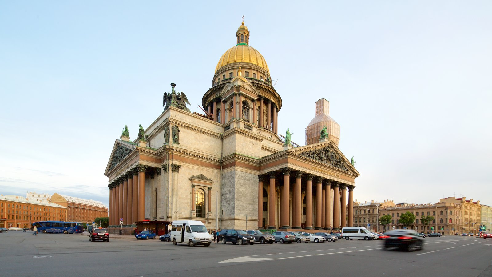 Catedral de S. Isaac caracterizando arquitetura de patrimônio