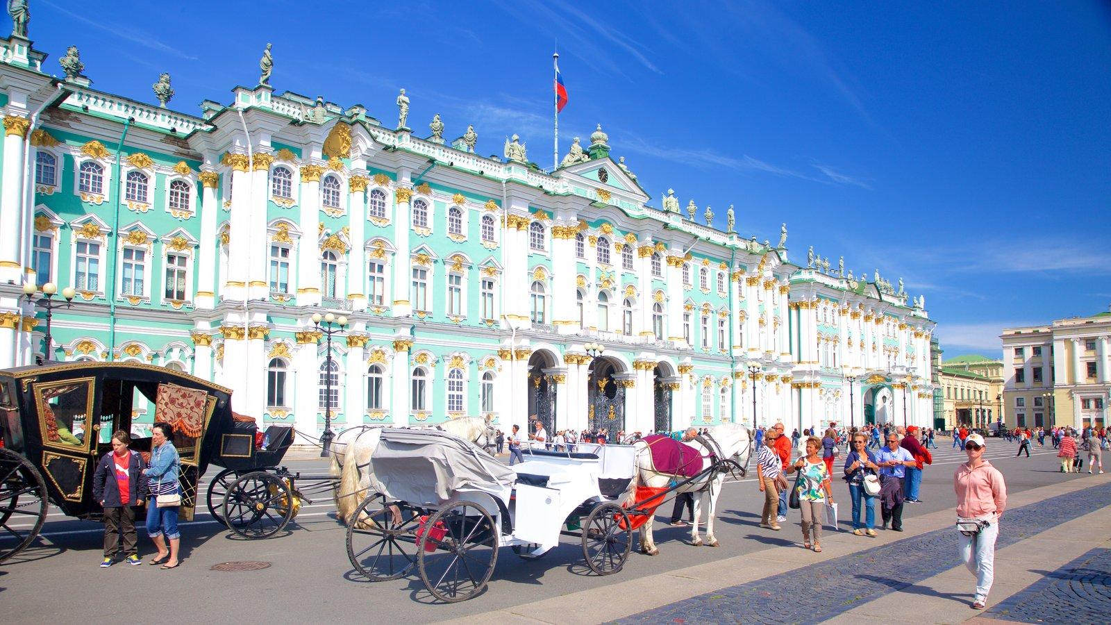 Hermitage caracterizando arquitetura de patrimônio e cenas de rua