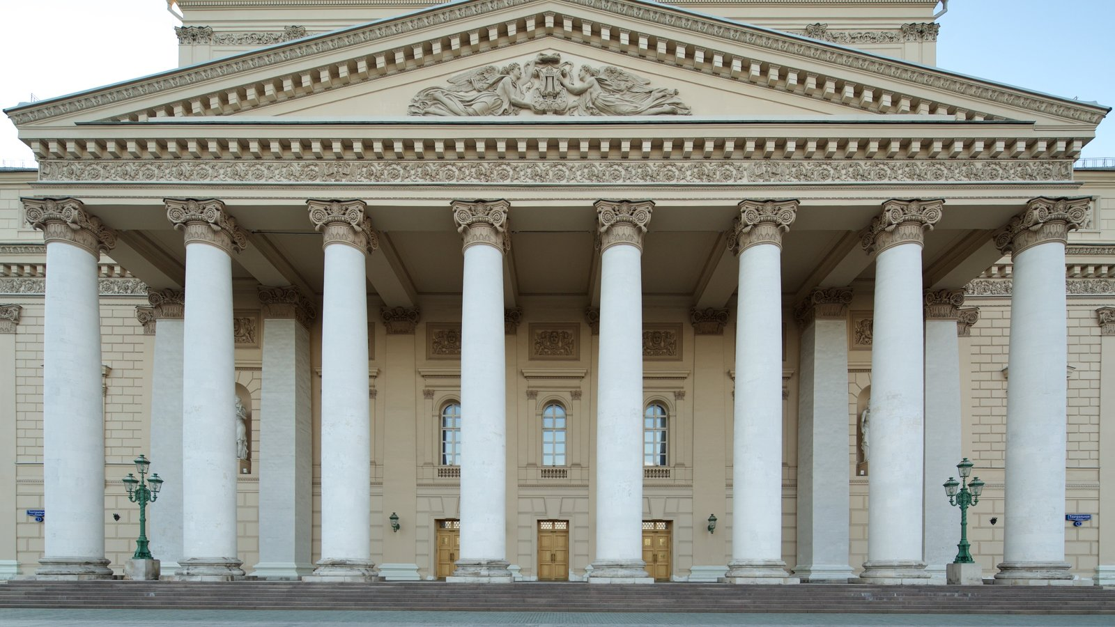 Teatro Bolshoi que inclui arquitetura de patrimônio