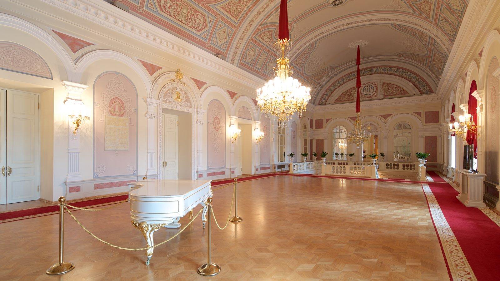 Teatro Bolshoi que inclui vistas internas e arquitetura de patrimônio