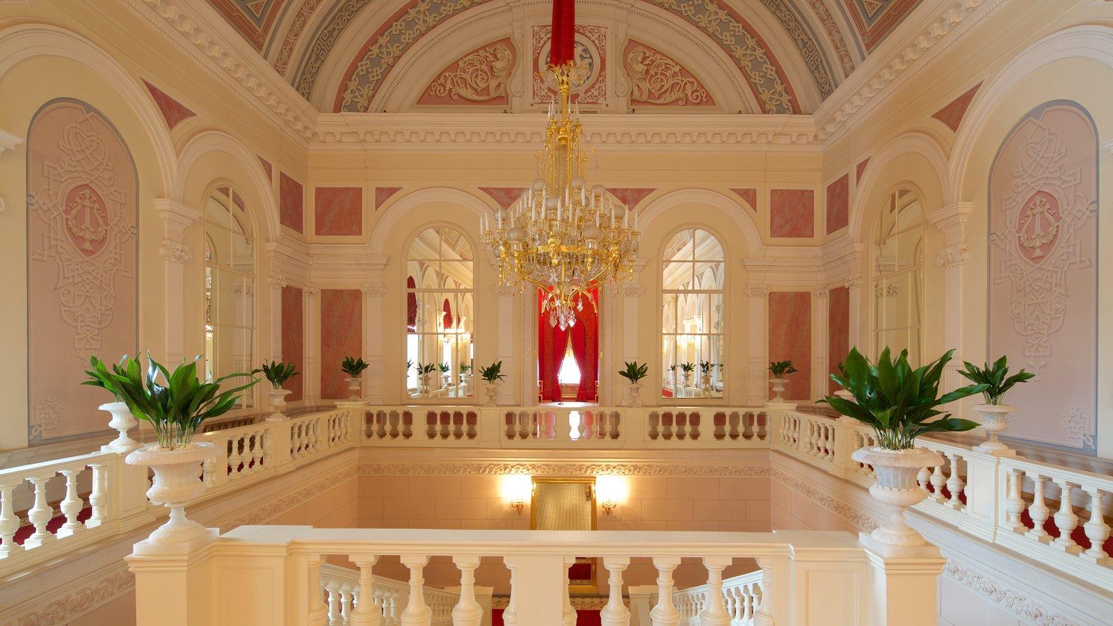 Teatro Bolshoi caracterizando vistas internas e arquitetura de patrimônio