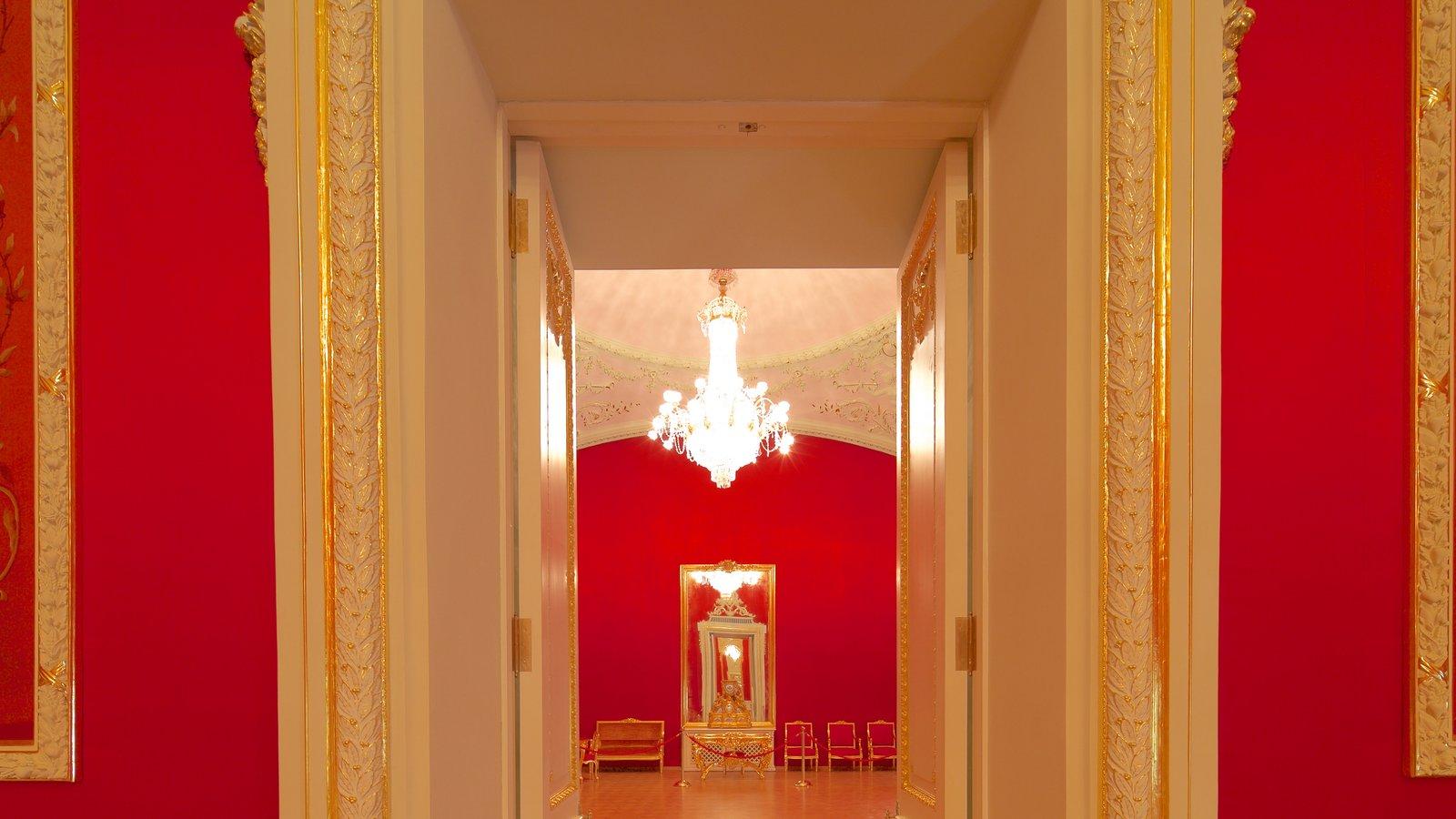 Teatro Bolshoi mostrando vistas internas e arquitetura de patrimônio