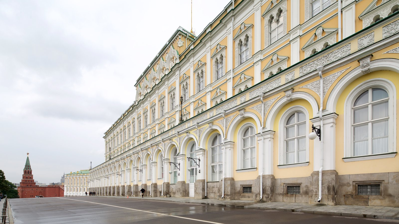 Kremlin Armoury Museum featuring heritage architecture