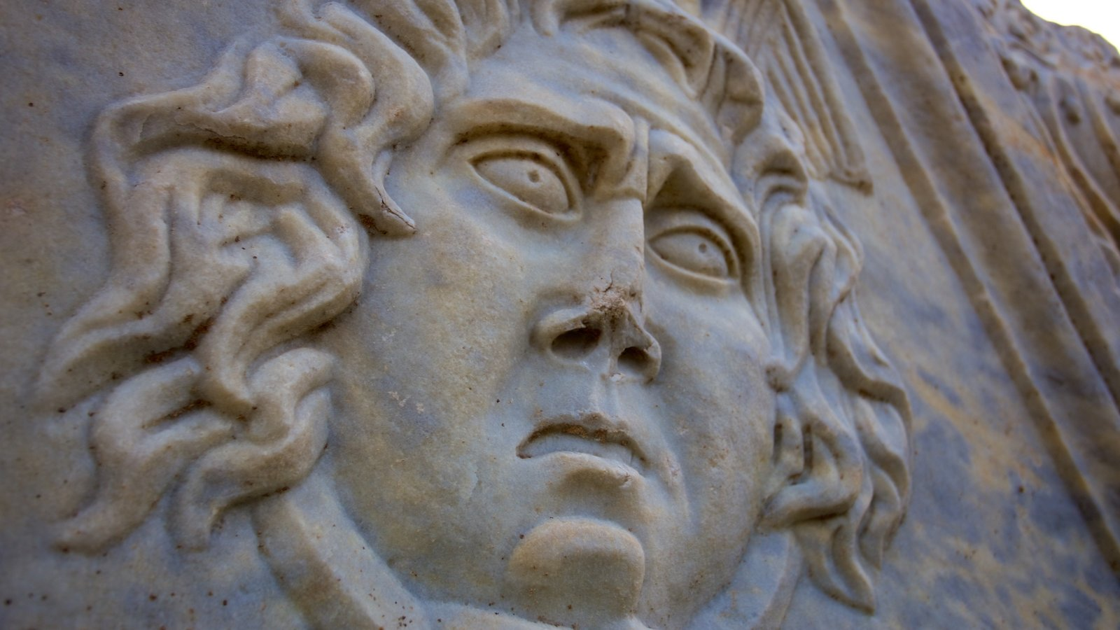 Salona Ruins showing a ruin