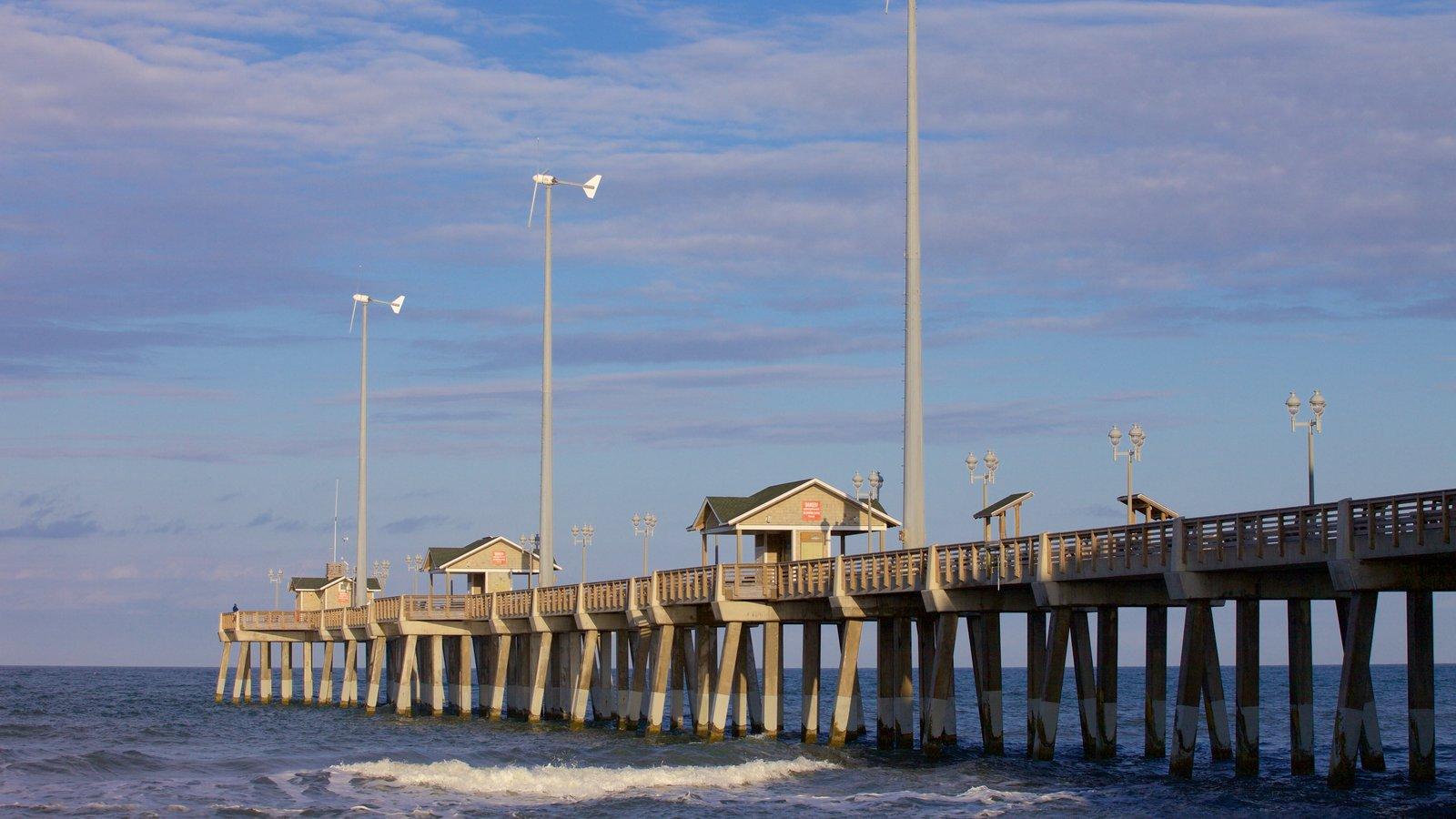 Jennette\'s Pier featuring general coastal views