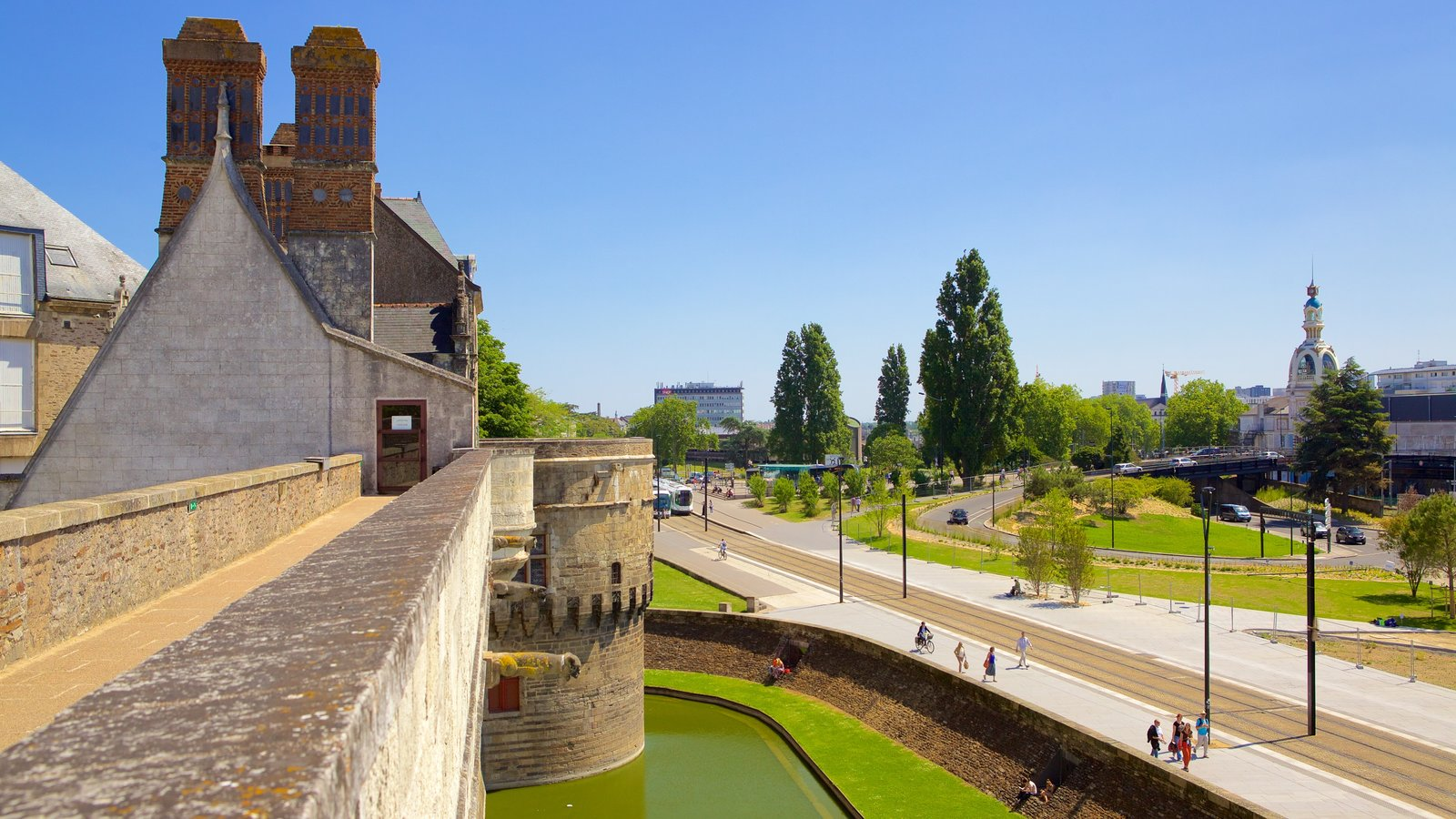 Nantes mostrando elementos de patrimônio