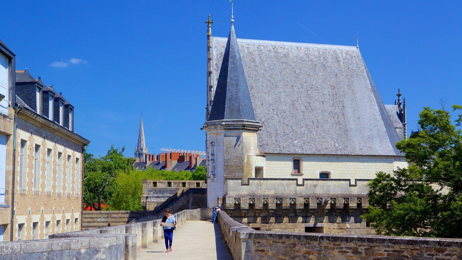 Nantes mostrando elementos de patrimônio e arquitetura de patrimônio